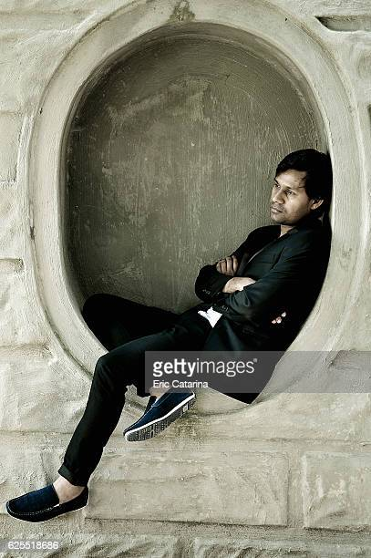 Director Deepak Rauniyar is photographed for Self Assignment on September 7, 2016 in Venice, Italy.