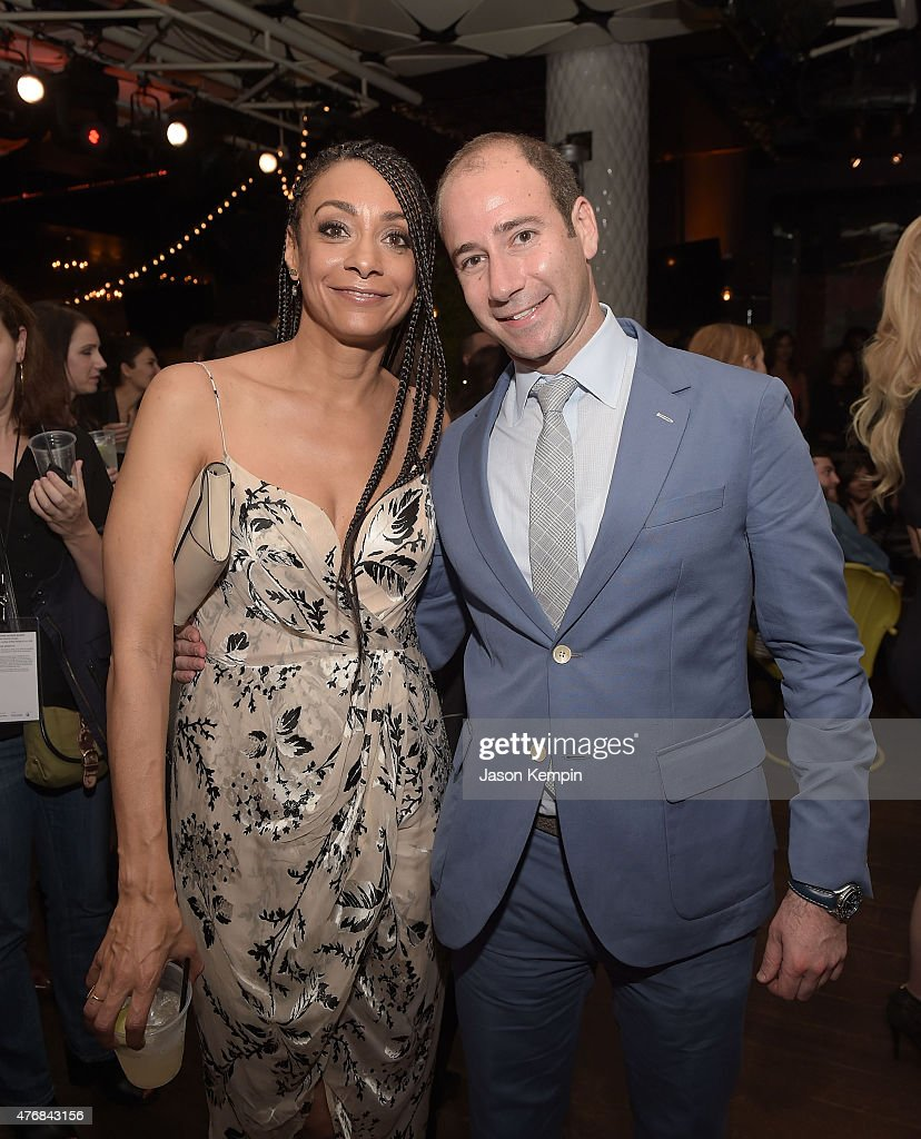 Director Delila Vallot and producer Rafael Marmor attend the after party for the premiere of 'Can You Dig This' at the Conga Room on June 11, 2015 in Los Angeles, California.