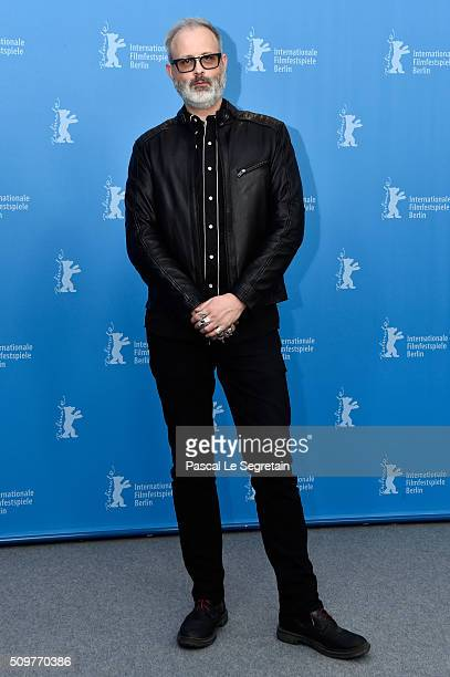 Director Denis Cote attends the 'Boris without Beatrice' photo call during the 66th Berlinale International Film Festival Berlin at Grand Hyatt Hotel...