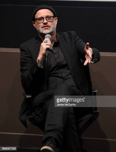 Director Denis Cte attends the 55th New York Film Festival 'A Skin So Soft' at Francesca Beale Theater on September 30 2017 in New York City
