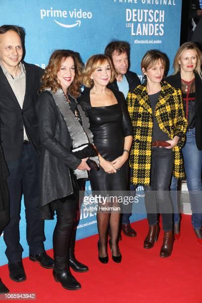 Director Denis Dercourt Annette Ernst Marie Anne Chazel Philippe Lelievre Sophie Mounicot and guest attend 'DeutschLes Landes' Paris Premiere at...
