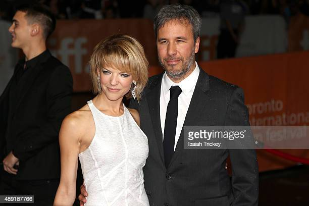 Director Denis Villeneuve and Tanya Lapointe attend the 'Sicario' premiere during the 2015 Toronto International Film Festival at Princess of Wales...