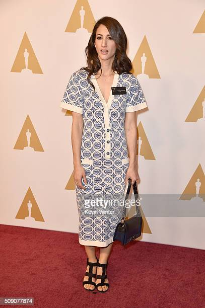 Director Deniz Gamze Ergüven attends the 88th Annual Academy Awards nominee luncheon on February 8 2016 in Beverly Hills California