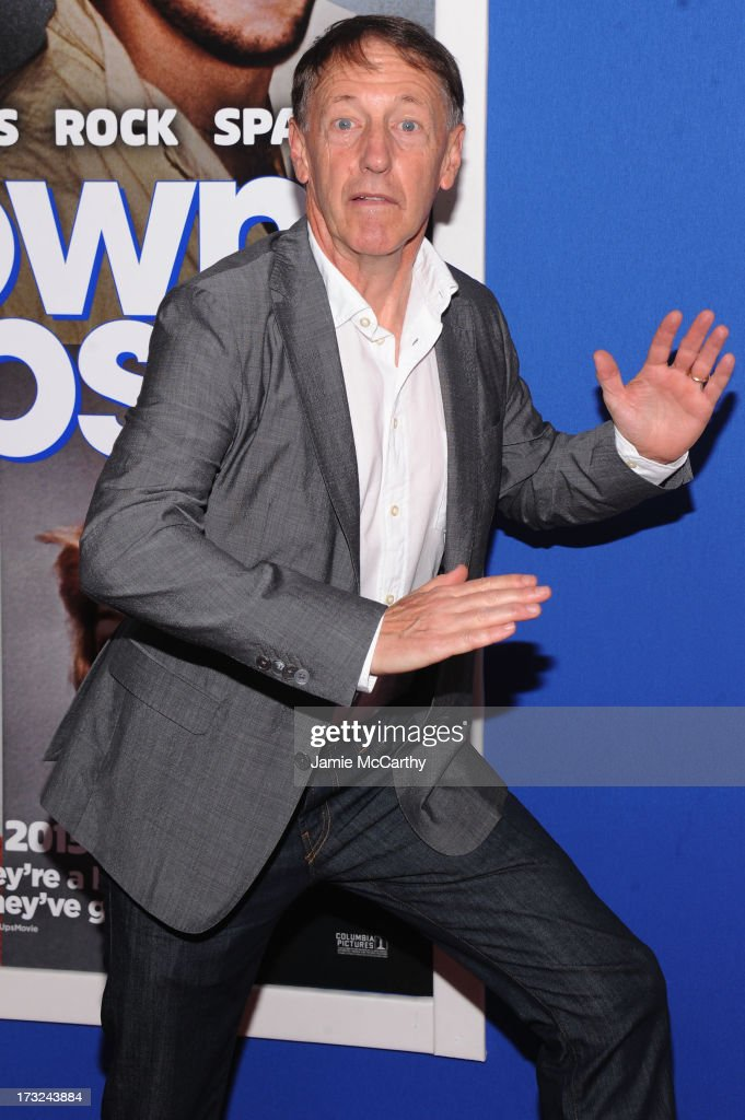 Director Dennis Dugan attends the 'Grown Ups 2' New York Premiere at AMC Lincoln Square Theater on July 10, 2013 in New York City.
