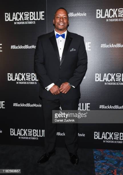 Director Deon Taylor attends the Black and Blue New York Screening at Regal EWalk on October 21 2019 in New York City