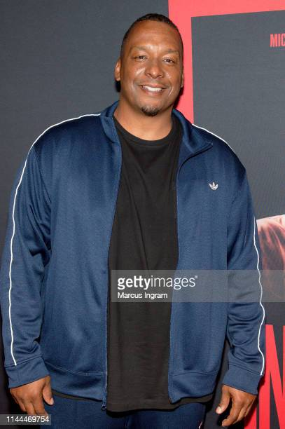 Director Deon Taylor attends The Intruder Atlanta red carpet screening at Regal Atlantic Station on April 22 2019 in Atlanta Georgia