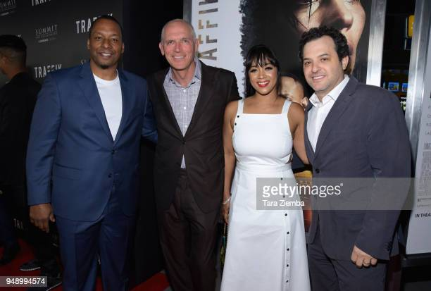 Director Deon Taylor Lionsgate Motion Picture Group CoChairman Joe Drake Producer Roxanne Avent and Lionsgate Motion Picture Group Present of...