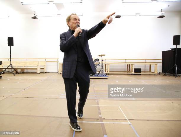 Director Des McAnuff during the press presentation for 'Summer The Donna Summer Musical' on March 8 2018 at the New 42nd Street Studios in New York...