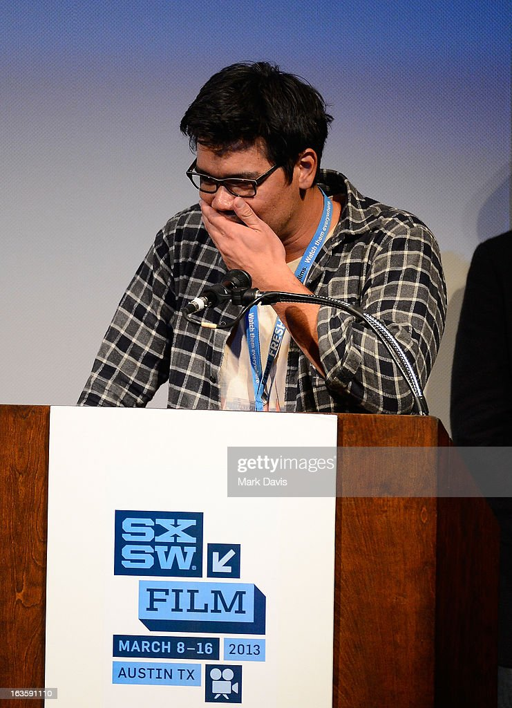 Director Destin Cretton of the film 'Short Term 12,' winner