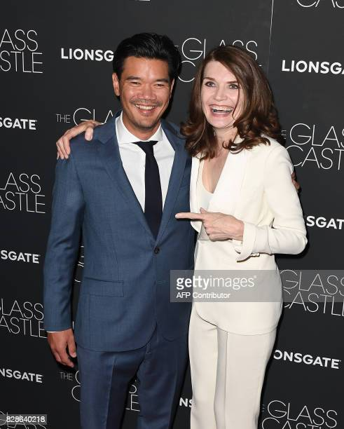 Director Destin Daniel and author Jeanette Walls attend 'The Glass Castle' New York screening at SVA Theatre on August 9 2017 in New York City / AFP...