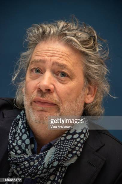 """Director Dexter Fletcher at the """"Rocketman"""" Press Conference at the Corinthia Hotel on May 20, 2019 in London, England."""