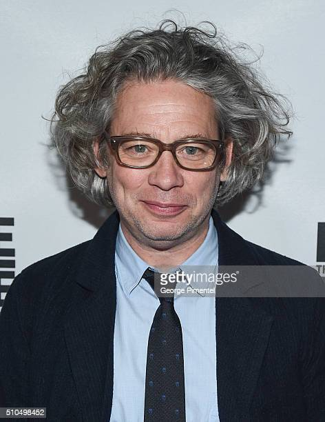 Director Dexter Fletcher attends Eddie The Eagle Premiere held at Scotiabank Theatre on February 15 2016 in Toronto Canada