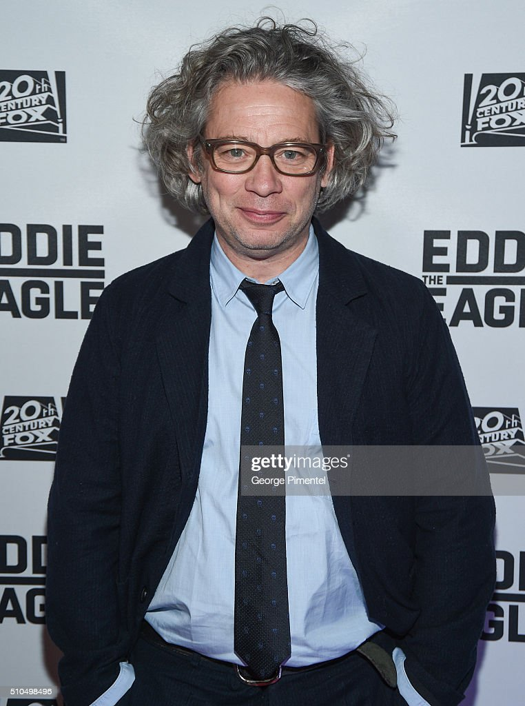 Director Dexter Fletcher attends 'Eddie The Eagle' Premiere held at Scotiabank Theatre on February 15, 2016 in Toronto, Canada.