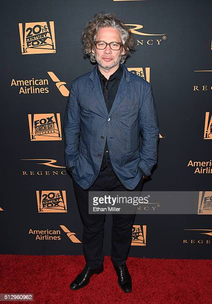 Director Dexter Fletcher attends the 20th Century Fox Academy Awards after party at Hollywood Athletic Club on February 28 2016 in Hollywood...