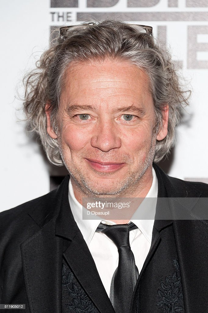 Director Dexter Fletcher attends the 'Eddie The Eagle' New York screening at Chelsea Bow Tie Cinemas on February 23, 2016 in New York City.