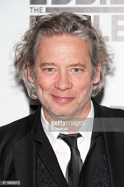Director Dexter Fletcher attends the Eddie The Eagle New York screening at Chelsea Bow Tie Cinemas on February 23 2016 in New York City