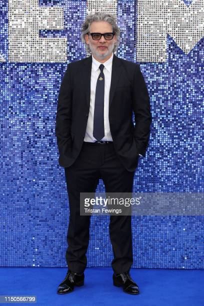 """Director Dexter Fletcher attends the """"Rocketman"""" UK premiere at Odeon Luxe Leicester Square on May 20, 2019 in London, England."""