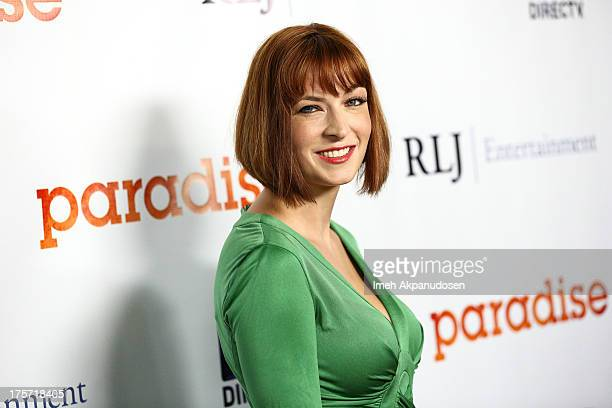 Director Diablo Cody attends the premiere of DirecTV's 'Paradise' at Mann Chinese 6 on August 6 2013 in Los Angeles California
