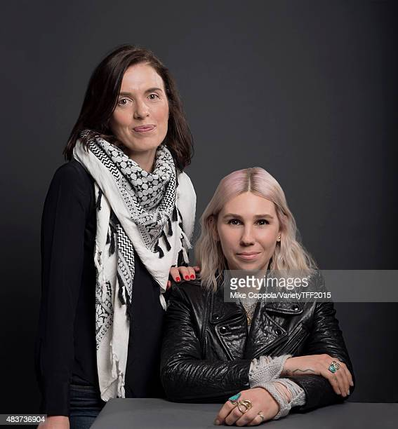 Director Diane Bell and actress Zosia Mamet are photographed for Variety at the Tribeca Film Festival on April 16, 2015 in New York City.