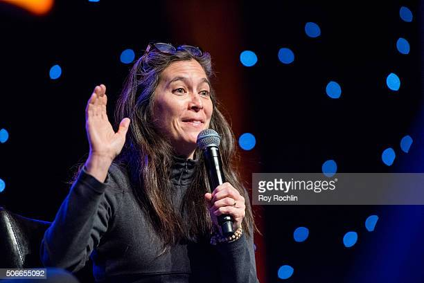 Director Diane Paulus attends BroadwayCon 2016 at the New York Hilton Midtown on January 24, 2016 in New York City.