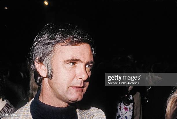 Director Dick Carson brother of Tonight Show host Johnny Carson attends an event circa 1970 in Los Angeles California