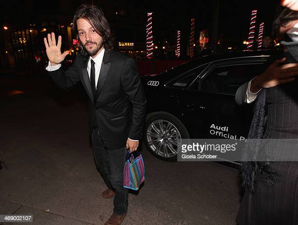 Director Diego Luna attends 'Cesar Chavez' premiere during 64th Berlinale International Film Festival at FriedrichstadtPalast on February 12 2014 in...