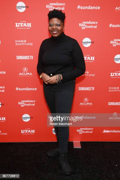 Director Dime Davis attends the 'Westwood Punk Icon Activist' Premiere And Wild Wild West Short during the 2018 Sundance Film Festival at The Marc...