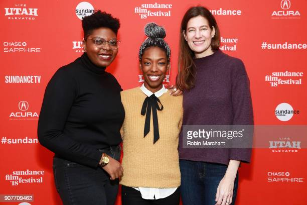 Director Dime Davis producer Elle Lorraine and producer Erin Wright attend the 'Westwood Punk Icon Activist' Premiere And Wild Wild West Short during...