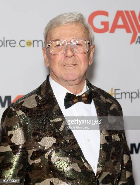 Director Dirk Yates attends the 2018 GayVN Awards show at The Joint inside the Hard Rock Hotel Casino on January 21 2018 in Las Vegas Nevada