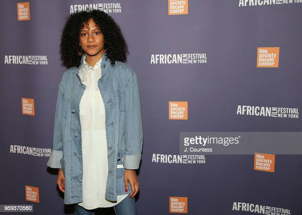 Director Djali BrownCepeda attends the opening night of the 25th African Film Festival at Walter Reade Theater on May 16 2018 in New York City