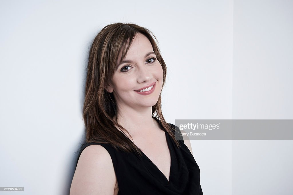 Director Domenica Cameron-Scorsese from 'Almost Paris' poses at the Tribeca Film Festival Getty Images Studio on April 19, 2016 in New York City.