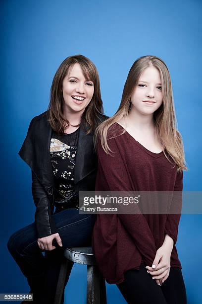 Director Domenica CamersonScorsese and actress Francesca Scorsese pose for a portrait at the Tribeca Film Festival on April 16 2016 in New York City