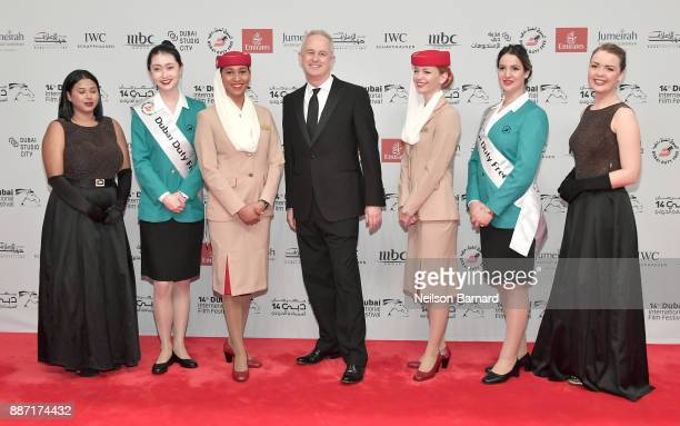 Director Dominic Cooke attends the Opening Night Gala of the 14th annual Dubai International Film Festival held at the Madinat Jumeriah Complex on...
