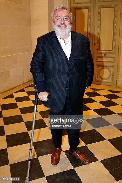 Director Dominique Farrugia attends Luc Besson receives the First 'Gold Medal of the Academy of Arts and Techniques of Cinema' Held at Monnaie De...