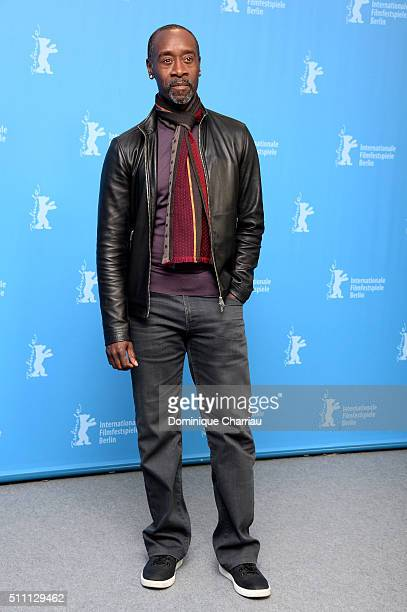 Director Don Cheadle attends the 'Miles Ahead' photo call during the 66th Berlinale International Film Festival Berlin at Grand Hyatt Hotel on...