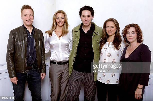 Director Don Roos actress Lisa Kudrow actor Scott Cohen actress Natalie Portman and author Scott Cohen pose for a portrait during the 2009 Toronto...