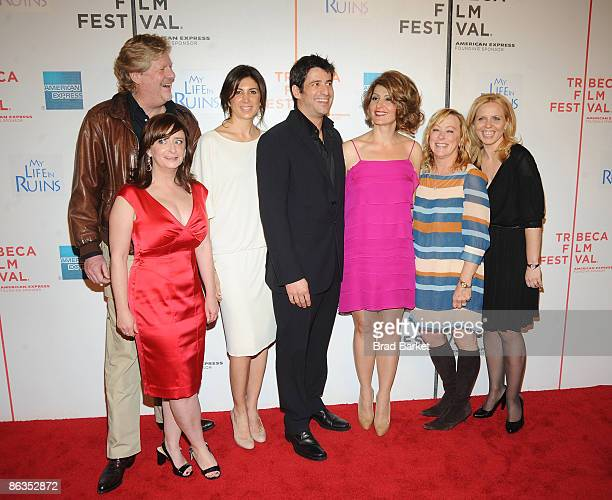 Director Donald Petrie, actor Rachel Dratch, producer Nathalie Marciano, Alexis Georgoulis, Nia Vardalos, Fox Searchlight CEO Nancy Utley, and...