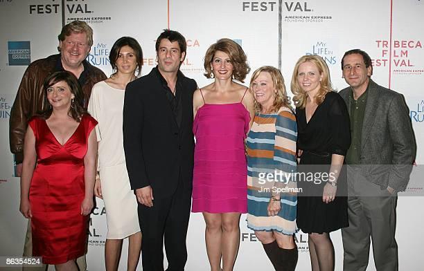 Director Donald Petrie, actor Rachel Dratch, producer Nathalie Marciano, Alexis Georgoulis, Nia Vardalos, Fox Searchlight CEO Nancy Utley, producer...