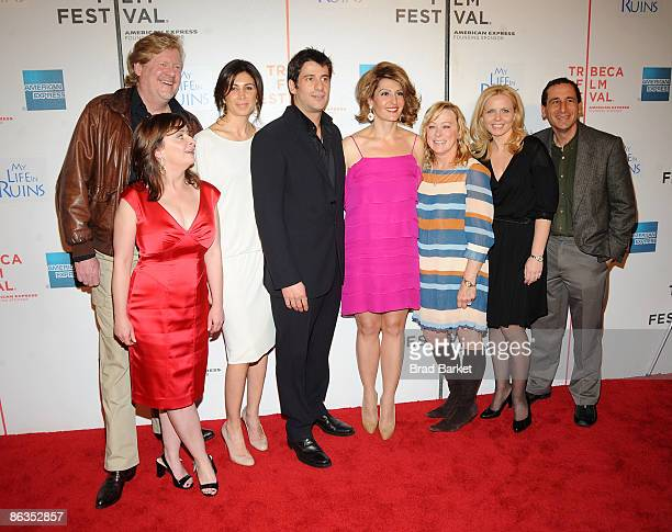Director Donald Petrie, actors Rachel Dratch, Alexis Georgoulis, Nia Vardalos, Fox Searchlight CEO Nancy Utley, producer Michelle Chydzik, and writer...