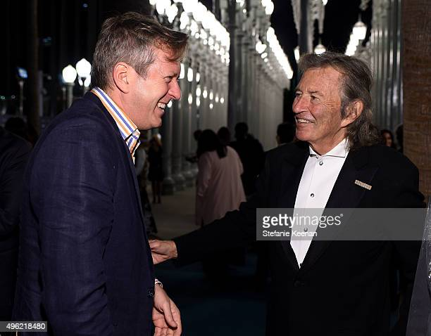 Director Doug Aitken and guest attend LACMA 2015 ArtFilm Gala Honoring James Turrell and Alejandro G Iñárritu Presented by Gucci at LACMA on November...