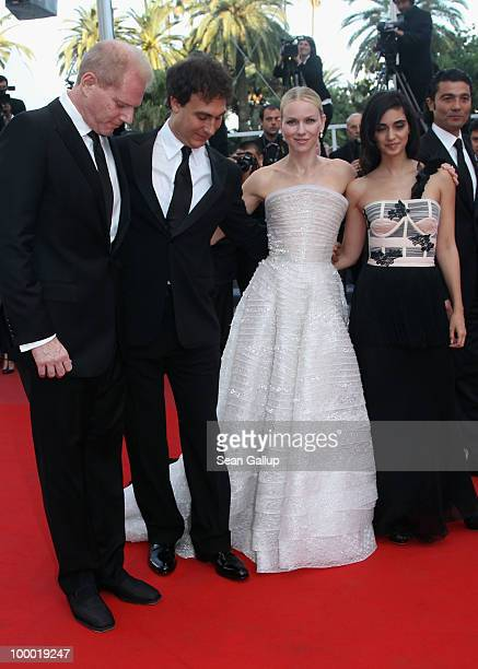 Director Doug Liman and actresses Liraz Charhi Naomi Watts attend the 'Fair Game' Premiere at the Palais des Festivals during the 63rd Annual Cannes...