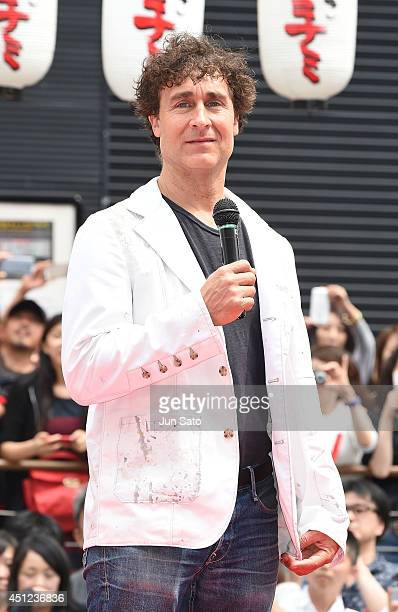 Director Doug Liman attends the promotional event for 'Edge of Tomorrow' at the Dotonbori Riverside on June 26 2014 in Osaka Japan