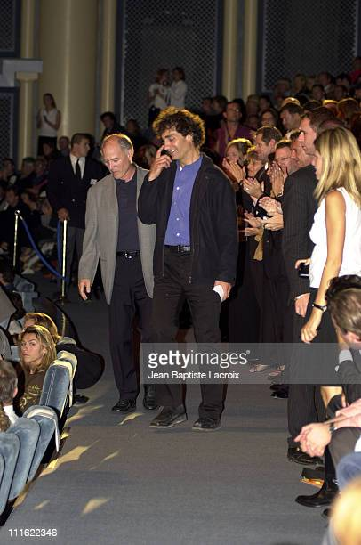 Director Doug Liman during Deauville 2002 'The Bourne Identity' Premiere Inside at CID Deauville in Deauville France