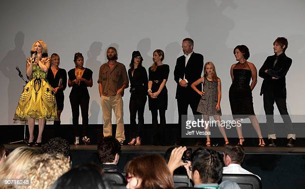 Director Drew Barrymore and cast attend theWhip It Premiere at the Ryerson Theatre during the 2009 Toronto International Film Festival on September...