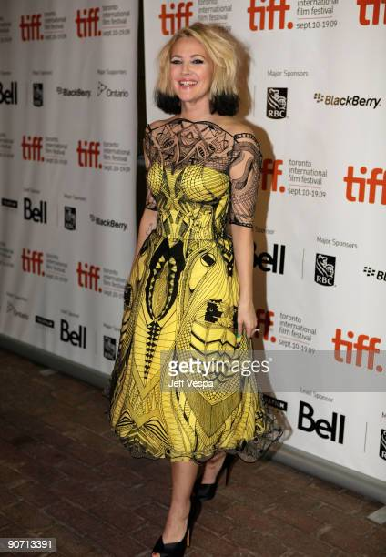 Director Drew Barrymore attends the'Whip It' Premiere at the Ryerson Theatre during the 2009 Toronto International Film Festival on September 13 2009...