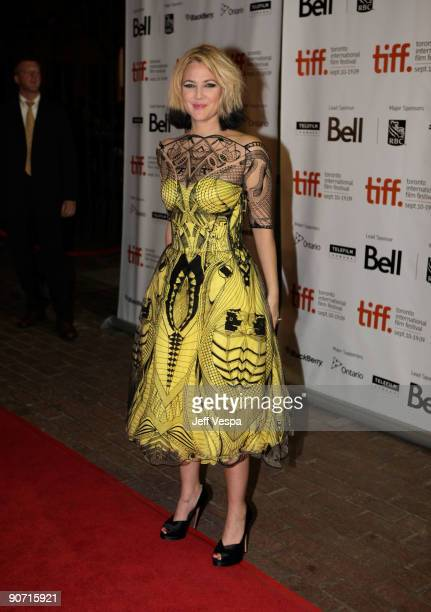 Director Drew Barrymore attends theWhip It Premiere at the Ryerson Theatre during the 2009 Toronto International Film Festival on September 13 2009...