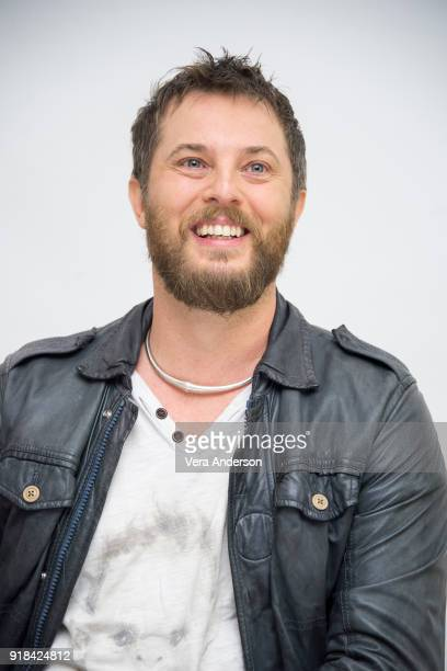 Director Duncan Jones at the 'Mute' Press Conference at the Four Seasons Hotel on February 12 2018 in Beverly Hills California
