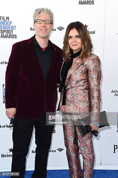 Director Eddie Schmidt and Rachel Kamerman attend the 2016 Film Independent Spirit Awards on February 27, 2016 in Santa Monica, California.