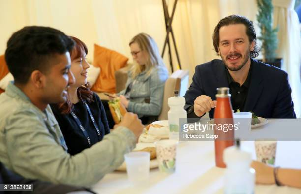 Director Edgar Wright at the Film Studies Panel Luncheon during The 33rd Santa Barbara International Film Festival at the Lobero Theatre on February...
