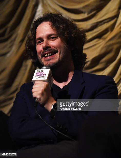 Director Edgar Wright attends the Film Independent at LACMA Screening Of Baby Driver at the Bing Theatre At LACMA on June 9 2017 in Los Angeles...